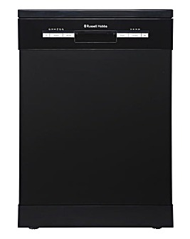 Russell Hobbs Black 12 Place Dishwasher