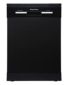 Russell Hobbs RHDW3B Freestanding 12-place Full-Size Dishwasher - Black