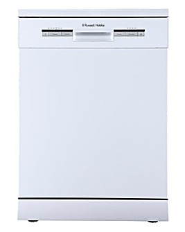 Russell Hobbs White 12 Place Dishwasher