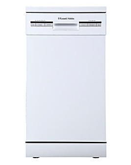 Russell Hobbs White 9 Place Dishwasher