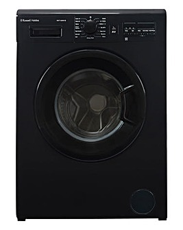 Russell Hobbs Black 7kg Washing Machine
