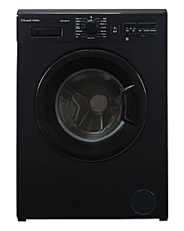 Russell Hobbs RH814WM1B Black 8kg Washing Machine