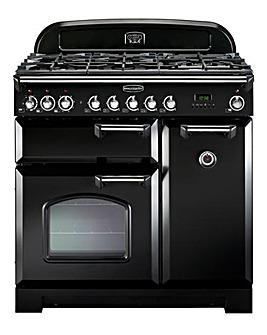 Rangemaster CDL90EIBL/C Black Induction Range Cooker