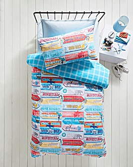 Nautical Signs Duvet Set