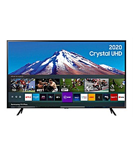 "Samsung UE75TU7020KXXU 75"" Ultra HD Crystal View HDR Smart TV"
