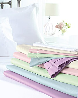400 Thread Count Sateen Flat Sheet