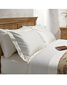 600 TC Oxford Pillowcase Pair