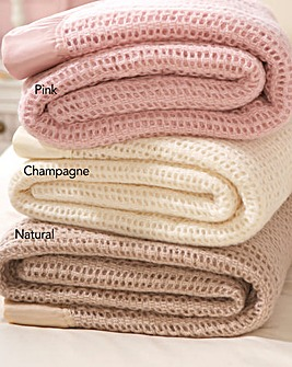 Wool Cellular Blanket