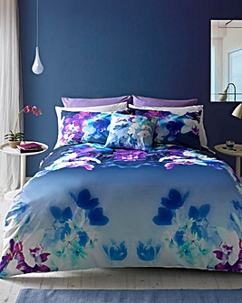 Lipsy Mirrored Orchid Duvet Cover Set