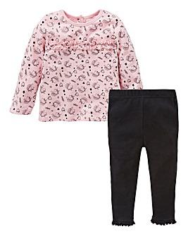 KD Baby Girl T-Shirt & Legging Set