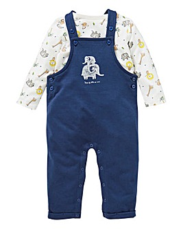 KD Baby Boy Dungaree & Tee Set