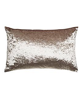 Boulevard Velvet Oyster Boudoir Cushion