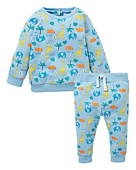 KD Baby Boy Jungle Print Tracksuit