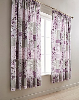 Mabel Lined Pencil Pleat Curtains