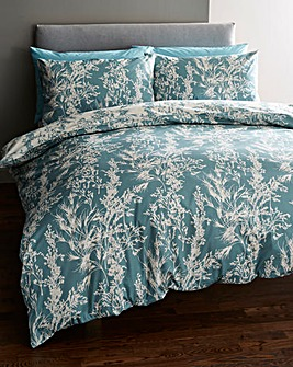 Carla Reversible Printed Duvet Set