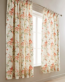 Carmella Thermal Lined Pencil Pleat Curtains