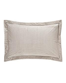 Austen Pleated Natural Pillowsham Pair