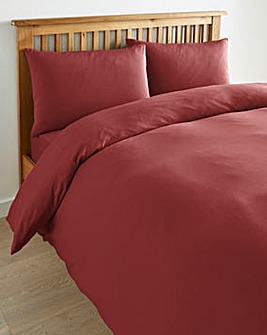 Cotton Jersey Duvet Cover Set