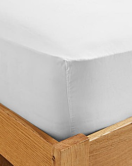 500 TC Cotton Rich Fitted Sheet