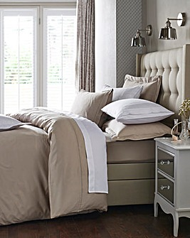 Hotel Quality 300 Thread Count Cotton Sateen Duvet Cover