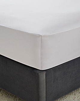 Hotel Quality 300 Thread Count Cotton Sateen Fitted Sheet