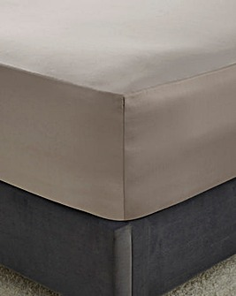 Hotel Quality 300 Cotton Sateen Extra Deep Fitted Sheet - 40cm
