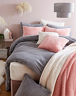 Supersoft Cuddle Fleece Duvet Set