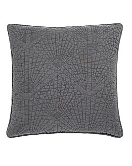 Stonewash Quilted Cushion