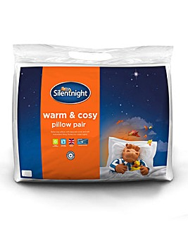 Silentnight Warm & Cosy Pillow Pair