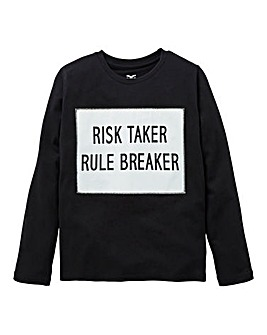 Fenchurch Boys Risktaker L/S T-Shirt