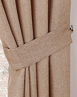 Basket Weave Tie-Backs
