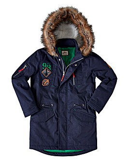 Joe Browns Boys Fur Hooded Parka