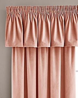 Luxury Velour Lined Pelmet