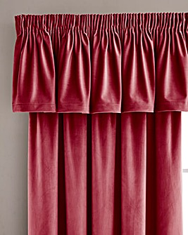 Luxury Velour Lined Pelmet