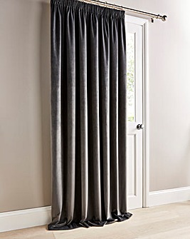 Luxury Velour Lined Door Curtain