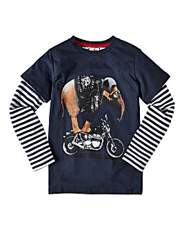 Joe Browns Boys L/S Elephant T-Shirt