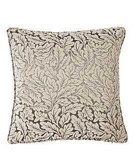 Balmoral Woven Leaf Cushion