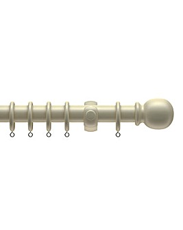 28mm Wooden Curtain Pole Set