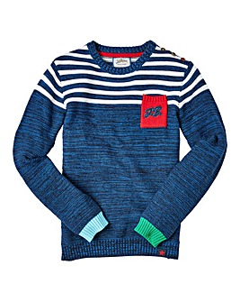 Joe Browns Boys Colourblock Jumper