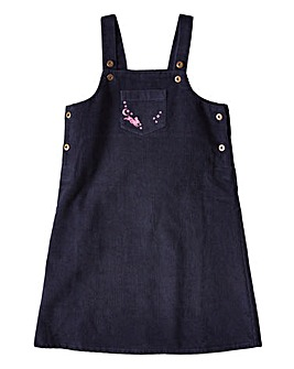 Joe Browns Girls Embroidered Cord Dress