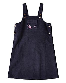 Joe Browns Girls Embroidered Cord Dress