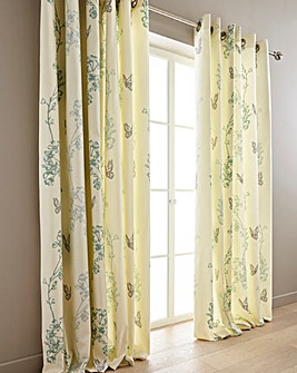 Thea Printed Eyelet Curtain