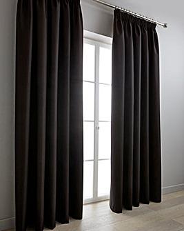 Woven Canvas Blockout Pencil P Curtains