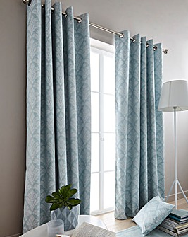 Cornella Blackout Eyelet Curtains