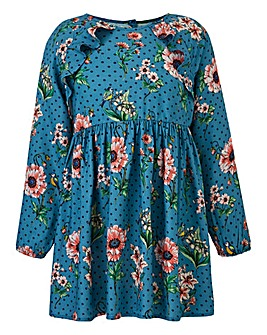 Joe Browns Girls Woven Printed Dress