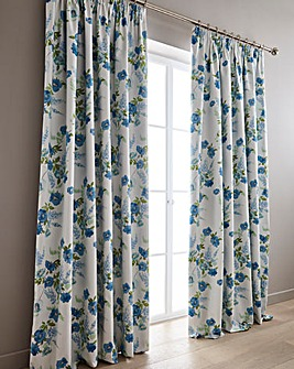 Lydia Blackout Pencil Pleat Curtains