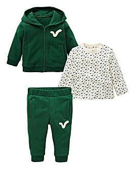 Voi Baby Boy Three Piece Tracksuit