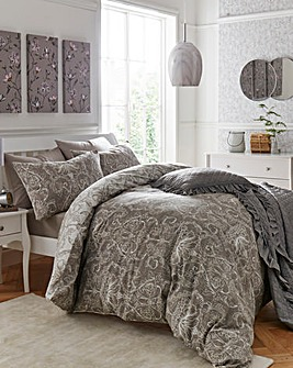 Mercia Taupe Duvet Cover Set