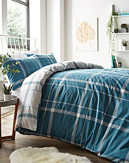 Kelsey Teal Duvet Cover Set