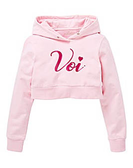 Voi Girls Overhead Cropped Hoody